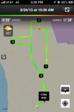 4.55 miles