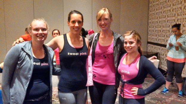 Sweat Pink Friends
