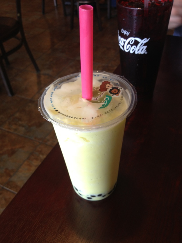 Pineapple Bubble Tea