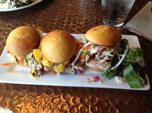 Salmon Sliders from Micheal's Market and Bistro in Moses Lake, WA